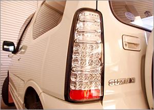 JB23 ジムニー   テールライト【シュピーゲル】ジムニー JB23 LEDテールランプ(ウィンカー付) カラー:レッド/スモーク
