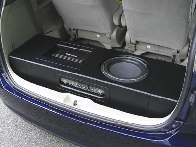 ESTIMA | ウーファーボックス | AVANZARE TCR10/20 エスティマ | ウーファーボックス【アヴァンツァーレ】エスティマ CR10/20 SUPER FLAT BOX BLACK