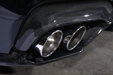 BMW 6 Series F12/F13 | ステンマフラー【3D デザイン】BMW 6 Series F06/F13 マフラー SUS φ100x4テール Export version