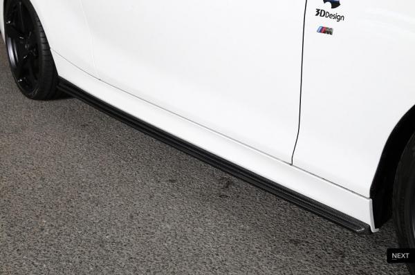 BMW 2 Series F22 | サイドステップ【3D デザイン】BMW 2Series F22 M-Sport/M235i サイドスカート カーボン製