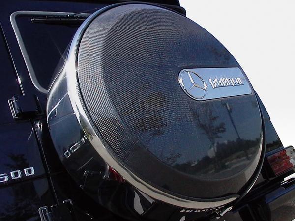 BENZ G W463 | その他 外装品【ブランニュー】BENZ G-Class W463 背面タイヤカバー カーボン エンブレム別