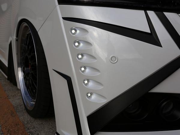 30 ヴェルファイア   フロント デイライト【シックスセンス】ヴェルファイア 30系 ジュールフロントバンパー専用LEDデイランプ