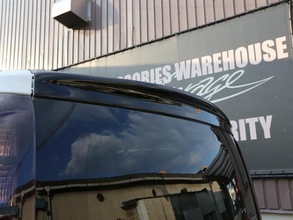 80/85 エスクァイア ESQUIRE   ルーフスポイラー / ハッチスポイラー【シックスセンス】エスクァイア(ハイブリッド) ZRR80/85G ZWR80G リアウイング ABS製 ウォッシャーノズル穴:無 カーボンカラー:ブラックカーボン調