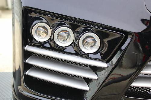 20 ヴェルファイア   フロントフォグランプ【シックスセンス】ヴェルファイア 前期 JOULEバンパー専用 6灯式プロジェクターフォグランプキット 6000K