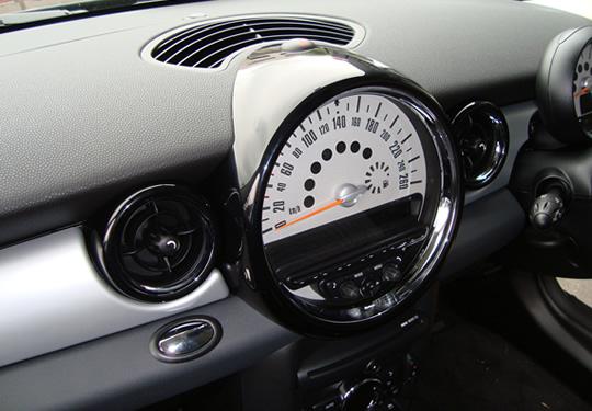 BMW Mini R55/56 | インテリアパネル【セカンドステージ】BMW MINI R55/R56 メーターパネル 茶木目