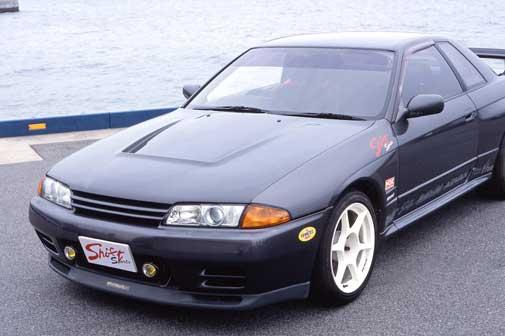 R32 GT-R | ボンネット ( フード )【シフトスポーツ】スカイラインGT-R BNR32 エアロボンネット CARBON