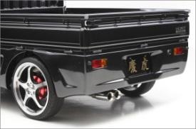 ピクシストラック | ステンマフラー【シフトスポーツ】ピクシストラック S500J/S510J 慶虎マフラー 慶虎エアロ用 片側2本出し