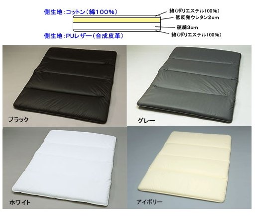汎用 | ベットキット【シンケ】汎用 フルフラットベッド 低反発タイプ Lサイズ グレー