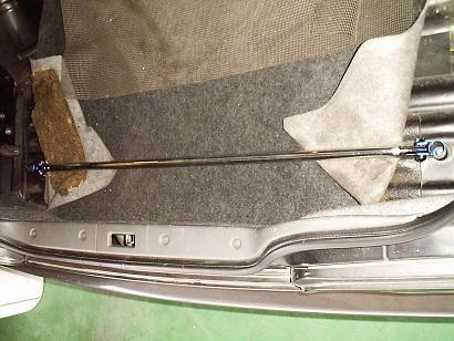 S14 シルビア   補強パーツ / リアトランク内【エスティーアール】シルビア S14 トランクバー
