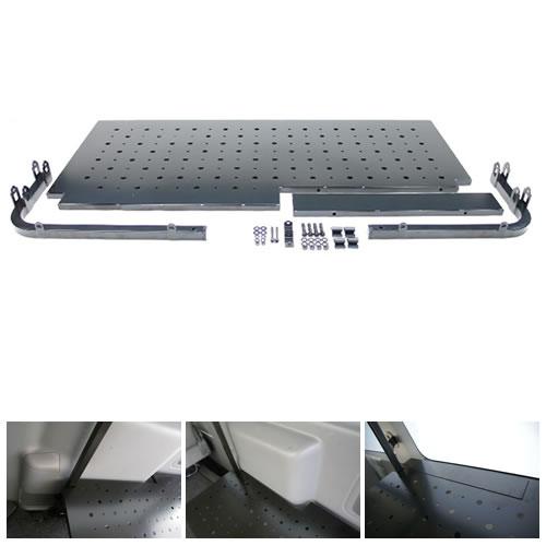 200 ハイエース 標準ボディ | 内装パーツ / その他【職車ドットコム】インナーキャリアオプション GL 棚板セット 右側