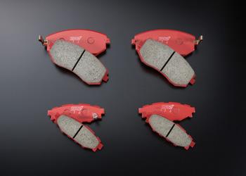 SJ フォレスター | ブレーキパット / 前後セット【エスティアイ】フォレスター SJ アプライドA~ ブレーキパッドセット NA車 フロント/リア