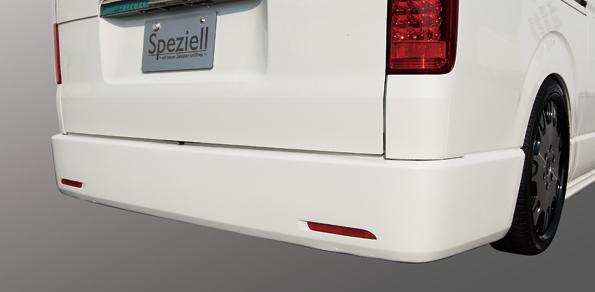 200 ハイエース | ステンマフラー【スペジール】ハイエース 200系 シークレットマフラー 3.0L ディーゼル 2型 ナロー