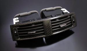 LEXUS IS 20 | 内装パーツ / その他【シンクデザイン】LEXUS IS250/350 AIR CONDITIONER TRIM センター 前期 ブラックカーボン
