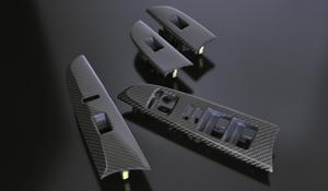 LEXUS IS 20 | 内装パーツ / その他【シンクデザイン】LEXUS IS250/350 POWER WINDOW SWITCH PANEL ブラックカーボン 後期