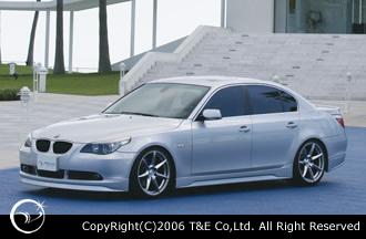 BMW 5 Series E60/E61 | サイドステップ【ティーアンドイー】VERTICE DESIGN BMW E60 5serise Side Step (2003.8~2007.5)