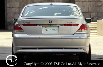 BMW 7 Series Series E65/66 E65 BMW/66 | リアバンパーカバー/ リアハーフ【ティーアンドイー】VERTICE DESIGN BMW E65/66 7series Rear Half Spoiler ~2005.5, 宮城野区:6587770f --- data.gd.no