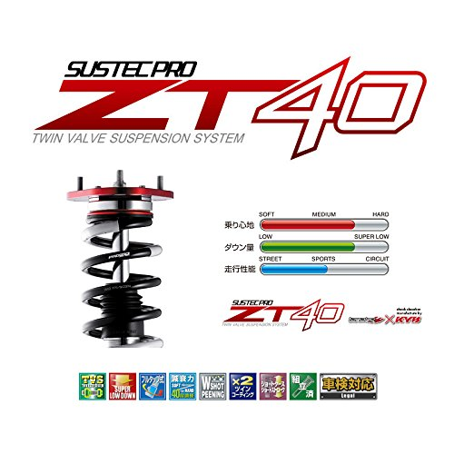 【タナベ】サスペンション(車高調キット) サステックプロ 】SUSTEC PRO ZT40 プリウスアルファ ZVW41W 2ZR-FXE 2011年05月~2014年10月