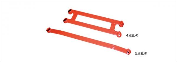 【タナベ】SUSTEC アンダーブレース シビックTYPE-R FD2 K20A 2007年03月~2010年08月