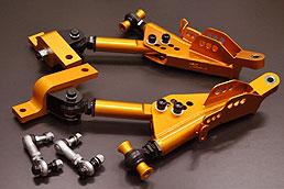 【ティーディメンド】プロアーム レクサスGS350(GRL10)/IS300h/RC300h フロントロアアーム 公認車検対応(改造申請書類代金含)  キャンバー側 -5mm~+40mm キャスター側 -15mm~+30mm ※競技 / ショーモデル専用