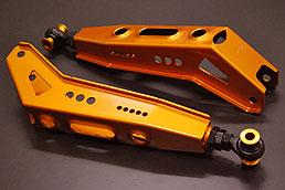 【ティーディメンド】プロアーム クラウン 180系・210系/マークX/レクサスGS・IS リアロアアーム 公認車検対応(改造申請書類代金含) 40mmダウン