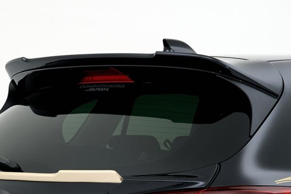CX-5   リアウイング / リアスポイラー【ロエン / トミーカイラ】CX-5 リヤルーフスポイラー CX-5 リヤルーフスポイラー FRP製 メーカー塗装済品 ジェットブラックマイカ (41W)