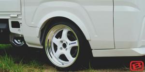 S500/510P ハイゼットトラック   オーバーフェンダー / トリム【ブラックス】ハイゼットトラック S500P オーバーフェンダー サイドパネルなし用