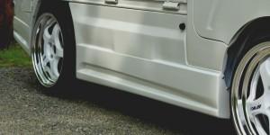 S500/510P ハイゼットトラック | サイドダクト/サイドパネル【ブラックス】ハイゼットトラック S500P タイプ2 サイドパネル