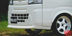 S500/510P ハイゼットトラック | フロントリップ【ブラックス】ハイゼットトラック S500P SPフロントリップスポイラー