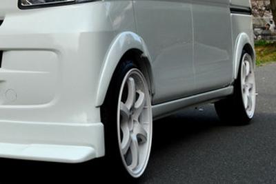 S321/331 ハイゼットカーゴ | オーバーフェンダー / トリム【ブラックス】ハイゼットバン S321V オーバーフェンダー