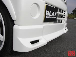クリッパー | フロントハーフ【ブラックス】クリッパー U71T フロントハーフスポイラー