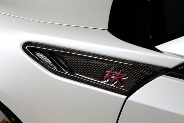 BRZ | フェンダーガーニッシュ【ロエン / トミーカイラ】BRZ ZC6 RR STREET-ZERO フロントフェンダーアクセント FRP製 未塗装品