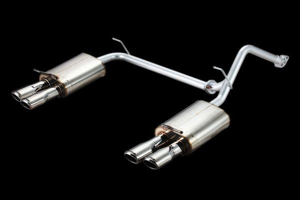 プリウスアルファ | エキゾーストキット / 排気セット【ロエン / トミーカイラ】プリウスアルファα ZVW41 High Performance Exhaust System PREMIUM 01S 4本出し(左右) ハーフステンレス テール固定式 Type-1