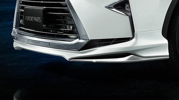 LEXUS RX 200/450 GL2#   フロントハーフ【トヨタモデリスタ】LEXUS RX GL2# F SPORT PARTS(MODELLISTA)フロントスポイラー ソニッククォーツ