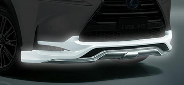 レクサス NX | フロントハーフ【トヨタモデリスタ】LEXUS NX MODELLISTA F SPORT PARTS フロントスポイラー メーカー塗装済品 プラチナムシルバーメタリック