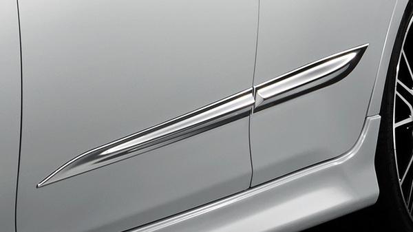 130 マークX   モール【トヨタモデリスタ】マークX 130系 (16/11~) MODELLISTA SELECTION スタイリッシュモール