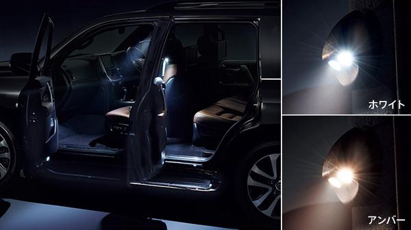ランクル 200 | LED キット【トヨタモデリスタ】ランドクルーザー URJ202W (2015/8-) LEDスマートフットライト (全車) アンバ-