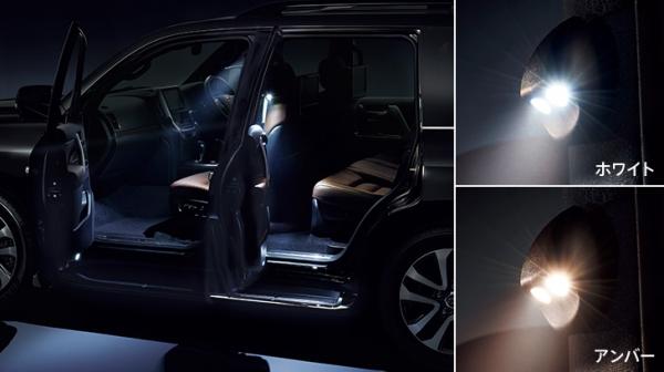 ランクル 200   LED ランプ【トヨタモデリスタ】ランドクルーザー 200 後期 MODELLISTA SELECTION LEDスマートフットライト アンバー
