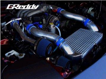 FD3S RX-7 | インタークーラー【トラスト】RX-7 FD3S GReddy V レイアウト フルキット 後期
