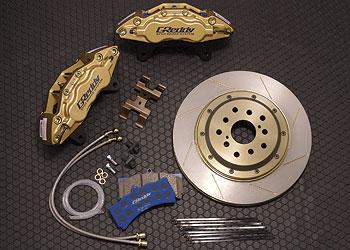 WC34 ステージア | ブレーキキット【トラスト】ステージア WGNC34 GReddy 6POTφ355ローター ブレーキシステム RS FOUR V