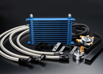 S13 シルビア | オイルクーラー【トラスト】シルビア PS13 GReddy オイルクーラーキット オイルエレメント移動タイプ