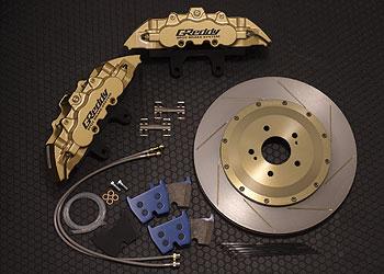 147 アリスト   ブレーキキット【トラスト】アリスト JZS147 GReddy 8POT ブレーキシステム