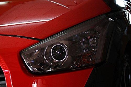 【テイクオフ】コペン ローブ/エクスプレイ LA400K CROSS ヘッドライトカバー 左右セット カラー:ライトスモーク HLC0081
