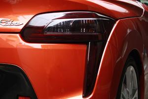コペン | テールガーニッシュ / テールライトカバー【テイクオフ】コペン ローブ/エクスプレイ LA400K CROSS テールレンズカバー 左右セット カラー:ダークスモーク