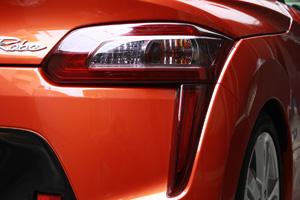 コペン | テールガーニッシュ / テールライトカバー【テイクオフ】コペン ローブ/エクスプレイ LA400K CROSS テールレンズカバー 左右セット カラー:ライトスモーク