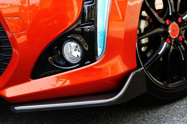 コペン | フロントカナード【テイクオフ】コペン ローブ LA400K CROSS CUPスポイラー カーボン製