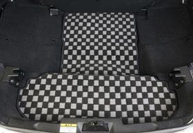 コペン | トランクマット/ラゲッジマット【テイクオフ】コペン L880K リアラゲッジマット ロングタイプ チェッカータイプ カラー:グレー