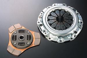 L500 ミラ | クラッチカバー【テイクオフ】ミラターボ L502S系 伝達くんメタル メタルクラッチ+カバーセット