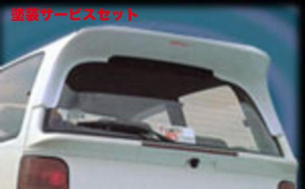 ★色番号塗装発送L200 ミラ | リアウイング / リアスポイラー【テイクオフ】TR-XXミラ L200系 後期 リアルーフ