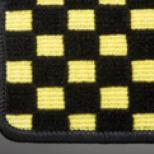 アルト HA36S/36V型 | アルト フロアマット【テイクオフ】アルトワークス/アルトRS(HA36S) フロアマット フロアマット | チェッカーイエロー/オーバーロックカラー・ブラック 運転席ヒールパッド無 ボタンタイプ(センター/ドア側), ジェムストック 天然石&シルバー:9dcdb16c --- coamelilla.com