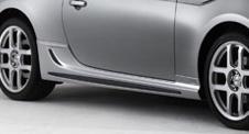 86 - ハチロク - | サイドステップ【トムス】86 ZN6 サイドステップ カーボンガーニッシュ ギャラクシーブルーシリカ(E8H)塗装済